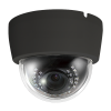 Cantek Plus CTP-TLV29AD-BK 1080p HD-AHD/Analog Outdoor IR Dome Camera, 2.8-12mm Lens, Black
