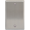 ICC IC630EBSSS 1-Gang Stainless Steel Blank Faceplate