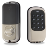 Yale YRD110ZW619 Key-Free Push-Button Z-Wave Deadbolt (Satin Nickel)