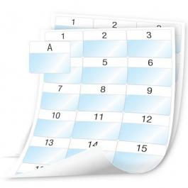 """DYMO 1908558 Laminated Wire/Cable Wrap Sheet Labels - 2"""" x 1-5/8"""""""