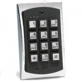 Linear 2000eM 2000 Series eM Style Metal Access Control Keypad