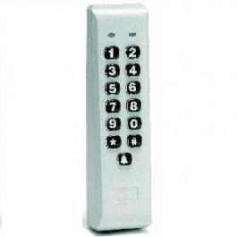Linear 232iLM-AL Indoor / Outdoor Weather Resistant Keypad aluminum