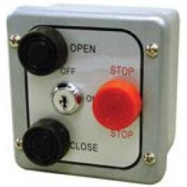 Linear 2500-1322 Exterior 3-Button Station OPEN-CLOSE-STOP