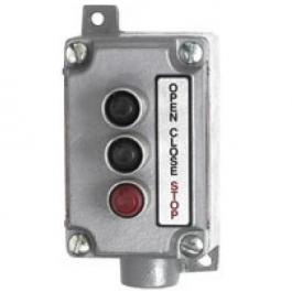 Linear 2520-213 Explosion Proof Three Button Station