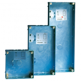 Comelit 3160/1 Recess box for Vandalcom 1-module entrance panel