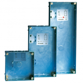 Comelit 3160/3 Recess box for Vandalcom 3-module entrance panel