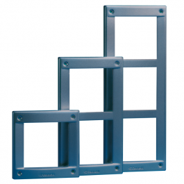 Comelit 3161/1 Module-holder frame for Vandalcom 1 module entrance panel