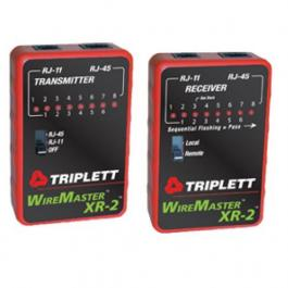 Triplett 3254 LAN Cable Test Set with Tracer Tone & Carrying Case