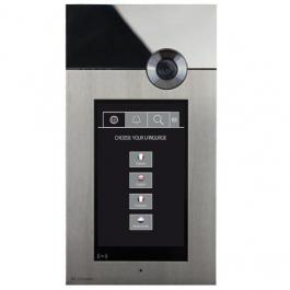 Comelit 3454H Stainless Steel VIP 316 Touch A/V Entrance Panel