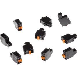Axis 5505-261 Connector A 2-pin 2.5 Straight 10PCS