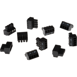 Axis 5505-291 Connector A 4-Pin 3.81 Straight IN/OUT 10pc