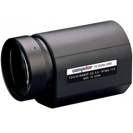 Computar T34Z5518DC 1/3-in 34X Motorized Zoom Lens (CS-Mnt)