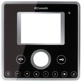 Comelit 6202N Black Faceplate for VIP Series Planux Video Monitor
