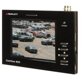 Triplett 8050 3.5 Inch Video Wrist Monitor w/ Carrying Case