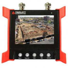 Triplett 8060 Ruggedized Video Test Monitor