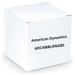 American Dynamics ADCI6BBLRNGBS Outdoor Bubble w/ Black Trim Ring