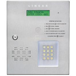 Linear AE-500 Commercial Telephone Entry System - Two Gates/Doors