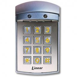 Linear AK-21W Stand Alone Exterior Flush-Mount Digital Keypad