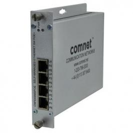 Comnet CNFE4SMSPOE 4-Port Ethernet Self-managed Switch (PoE+)