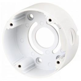 Speco CVCJBBW Round Junction Box for Bullet Cameras, White