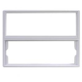 Linear DMC1F Combination Mounting Frame White