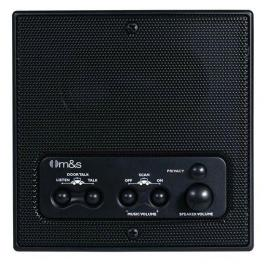 Linear DMC1RSB Indoor Room Station Black