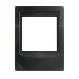 Linear DMCFRB Room Station Retrofit Mounting Frame Black
