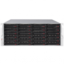 Digital Watchdog DW-BJER4U120T-LX Linux 14.04 OS Blackjack E-Rack 120TB