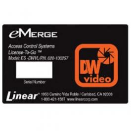 Linear ES-DWVL emerge Essential Watchdog 4-Channel Video License