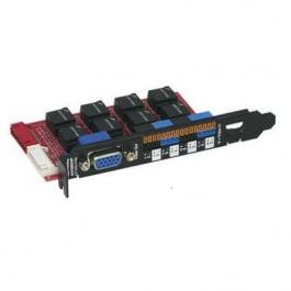 Seco-Larm EVT-PC8-VTDQ 8-Port Passive Video Balun Hub Card