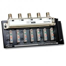 Linear H802 Combination Telephone/TV Hub