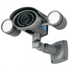 Speco HT7048IRVF Outdoor Day/Night Bullet Camera with 98 LEDs, 2.8-12mm Lens