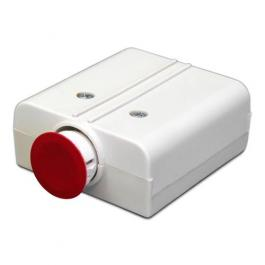 United Security Products HUB2-ES Hold Up Button - Latching, DPDT, 6 Solder Terminals, w/emergency external activator