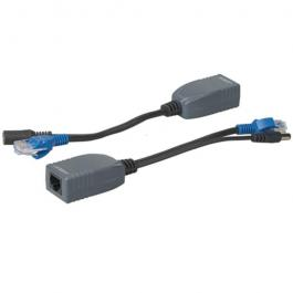 Seco-Larm NJ-P101M-PQ Passive PoE Splitter and Injector