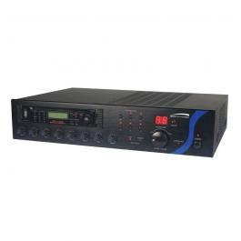 Speco PBM120AU 120W PA Mixer Amplifier with USB/Tuner/CD