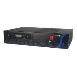 Speco PBM60AU 60W PA Mixer Amplifier with USB/Tuner/CD