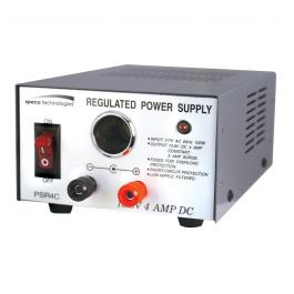 Speco PSR4C 4 Amp Regulated 12VDC Power Supply