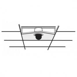 American Dynamics RHIUFB 2'x2' Drop Ceiling Fixed Bracket