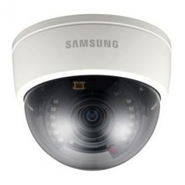 Samsung Security SCD-2080R 1/3-Inch High Resolution IR Dome Camera, 2.8-10mm Lens
