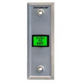 Seco-Larm SD-7103GC-PTQ LED-Illuminated Request-to-Exit Wall Plates