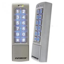 Seco-Larm SK-2323-SPQ Mullion-Style Outdoor Stand-Alone Keypad