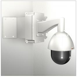 ACTi SMAX-0168 Corner Mount with Junction Box & Heavy Duty Wall Mount