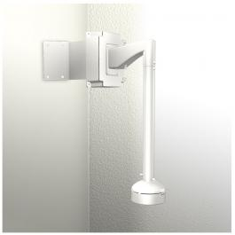 ACTi SMAX-0172 Corner Mount with Junction Box & Heavy Duty Wall Mount