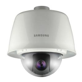 Samsung Security SNP-3120VH 12x Outdoor Vandal-Resistant True Day/Night Network PTZ Dome Camera w/Sunshield