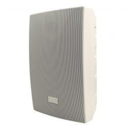 "Speco SP5AWXTW 5.25"" Outdoor Speaker White with Transformer"