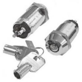 Seco-Larm SS-090-2H1 High-Security Tubular Key Lock