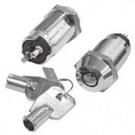 Seco-Larm SS-090-2H3 High-Security Tubular Key Lock