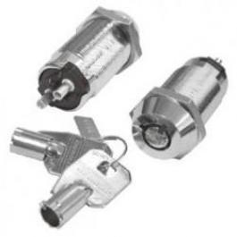 Seco-Larm SS-090-2H8 High-Security Tubular Key Lock