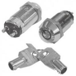 Seco-Larm SS-095-1H4 High-Security Tubular Key Lock