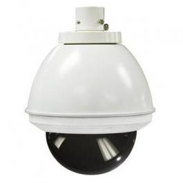 Sony UNI-INS7T1 7-inch Indoor Pendant Housing for SNC-RZ50N and SNC-RZ30N, AC 24V Input, DC12V Power Included, Tinted Dome